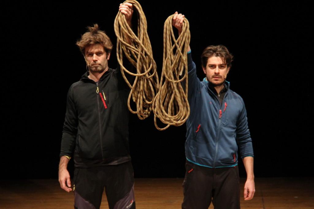 Teatro e montagna, prosegue la rassegna SAF e Dlf: Alpinisti sul palcoscenico