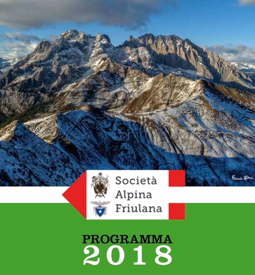Società Alpina Friulana, un 2018 con oltre duecento appuntamenti