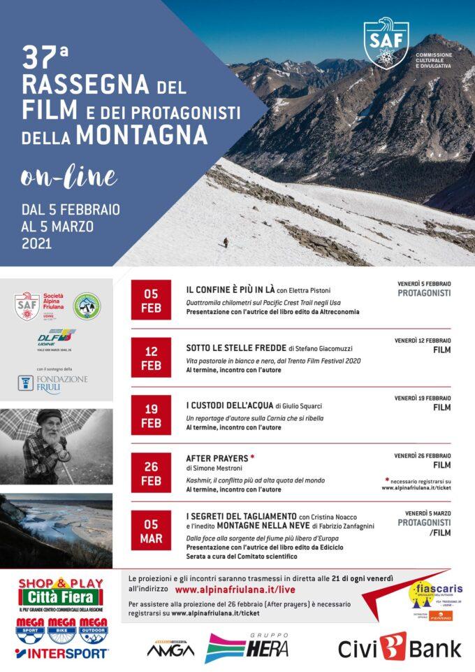 37^ RASSEGNA DEL FILM E PROTAGONISTI DELLA MONTAGNA